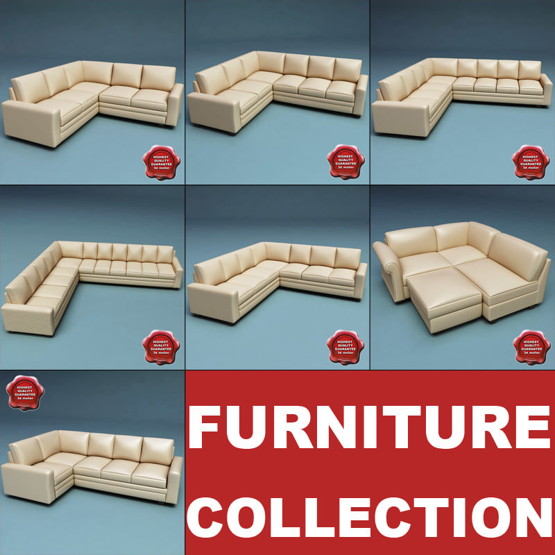 3d furniture v6 model