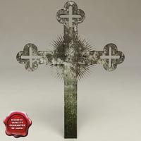 3ds grave cross v3