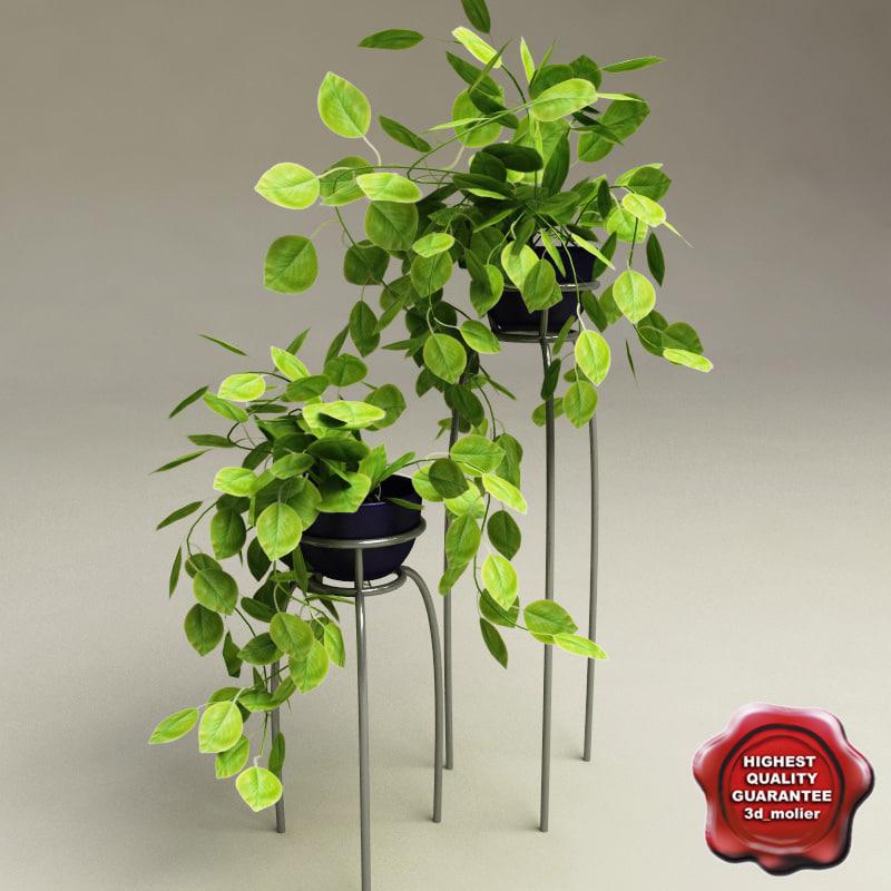 3d model home plant v2