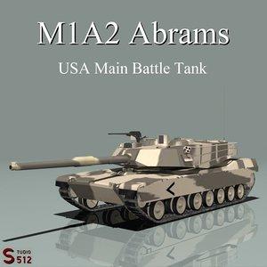 obj m1a2 abrams variant tank