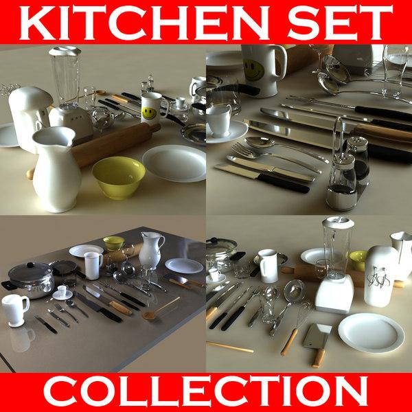 max set kitchen accessories