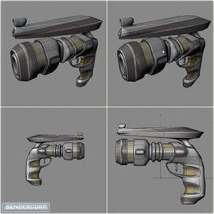 hand weapon obj