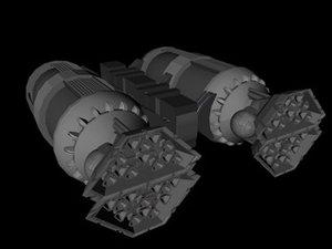 3d 3ds thruster