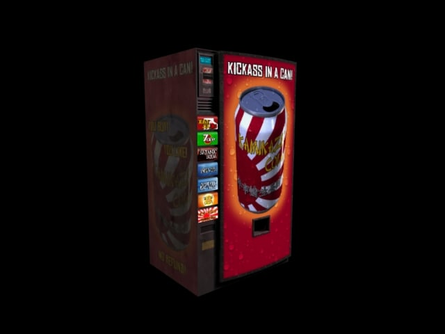 soda machine 3d model
