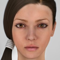 cinema4d female head