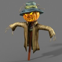 pumpkin scarecrow 3ds