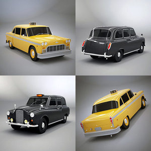 classic taxi london 3d 3ds