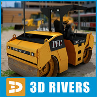 Asphalt compactor 03 by 3DRivers