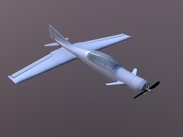 3d concept plane engine