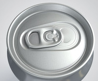 3d model drinks cans