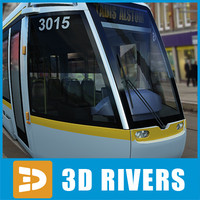 Dublin tramway by 3DRivers
