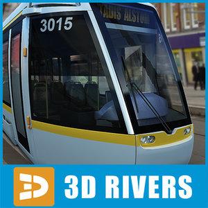 3d dublin tram tramways