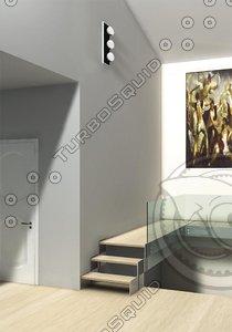 3d stair upstair