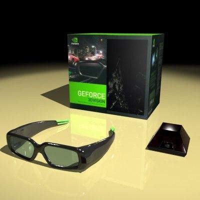 nvidia 3dvision kit max