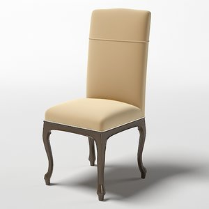 3d luciano zonta chair model