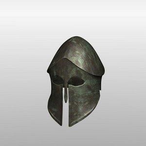 3d hoplite helmet