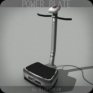 power plate 3d model
