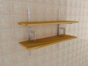 3ds max shelves
