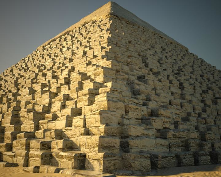 3d great pyramid