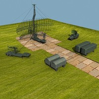early radars 3d model