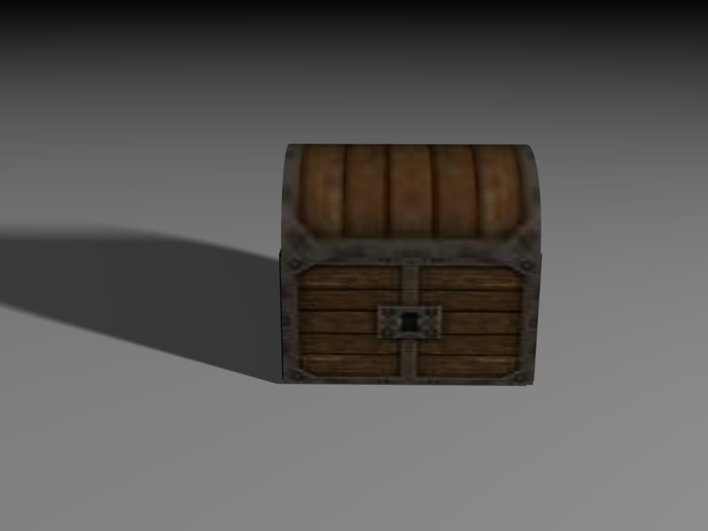 3d model chest legend zelda