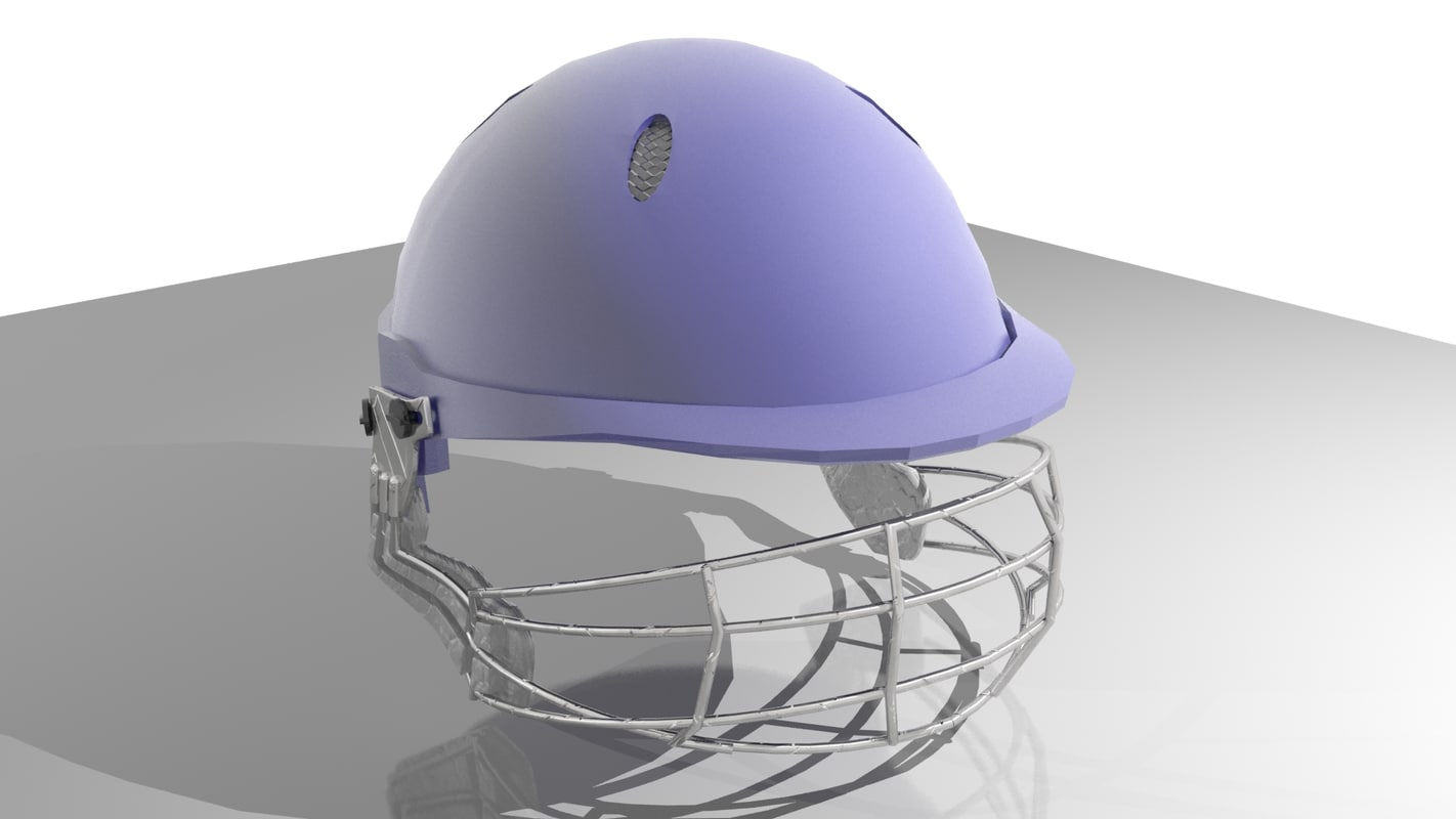 cricket helmet 3d 3ds