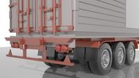 3ds truck trailer