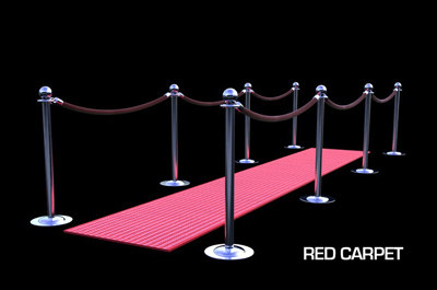 red carpet 3d c4d
