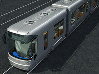 3d model city train
