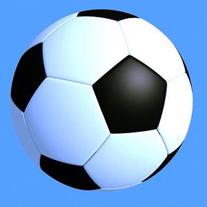 foot ball 3d model