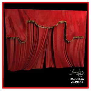 max theatre curtain