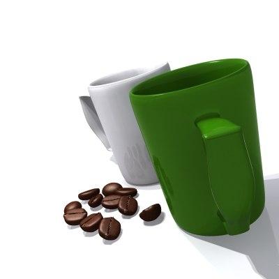 3ds max coffe coffee