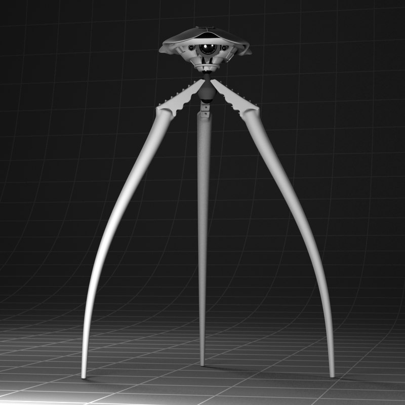 3ds max war worlds tripod