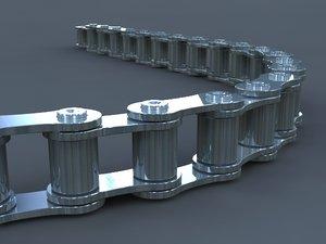 3d model chain links