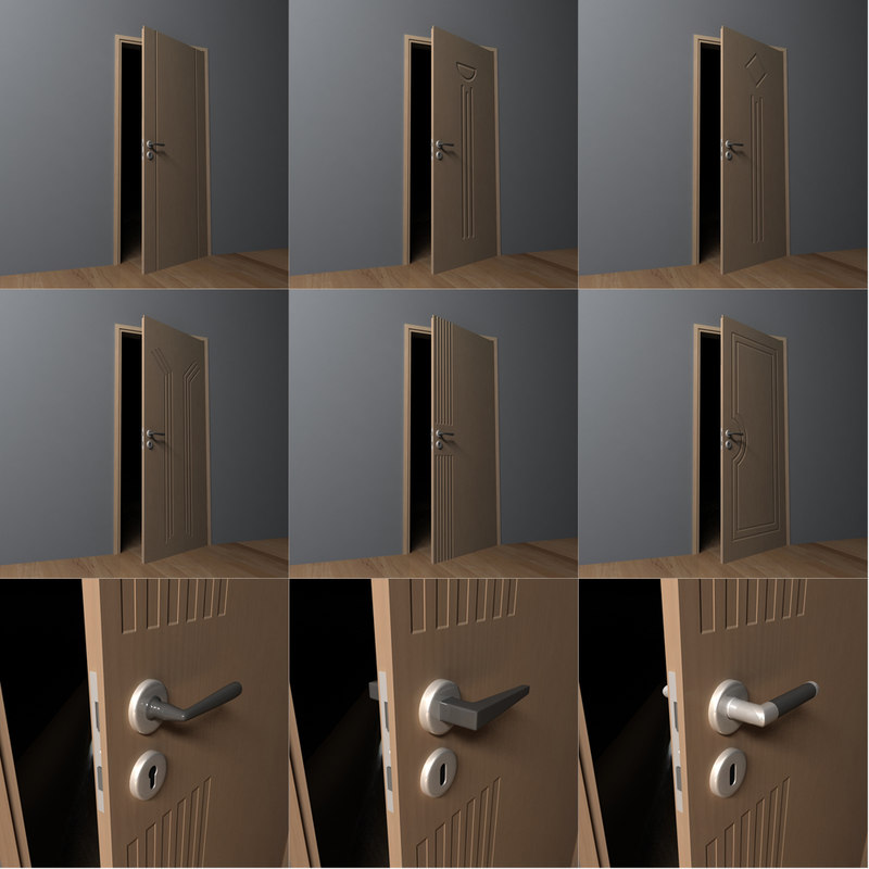 plastic door handles max free