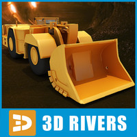 Underground Mining Loader by 3DRivers