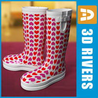rubber boots wellington 3ds