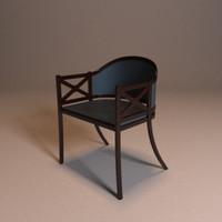wooden chair blend