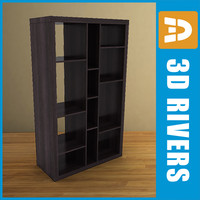 Bookcase 03 by 3DRivers