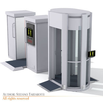 3dsmax airport body