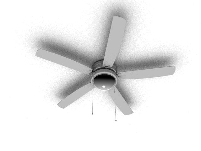 residential ceiling fan 3ds free