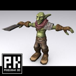 goblin games dungeon 3d model