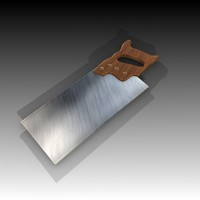hand saw 3d model