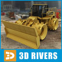 Landfill compactor by 3DRivers
