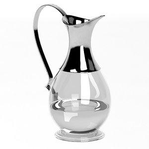 3d match pitcher handle model