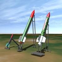 rockets qassam artillery dxf