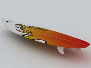 3ds max surf surfboard