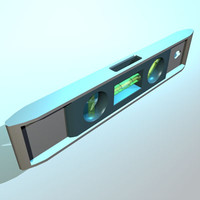 torpedo level 01 3d model