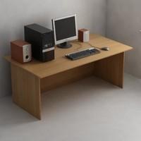 Computer & speakers