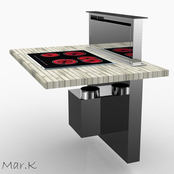 kitchen hood dhd7000x 3ds